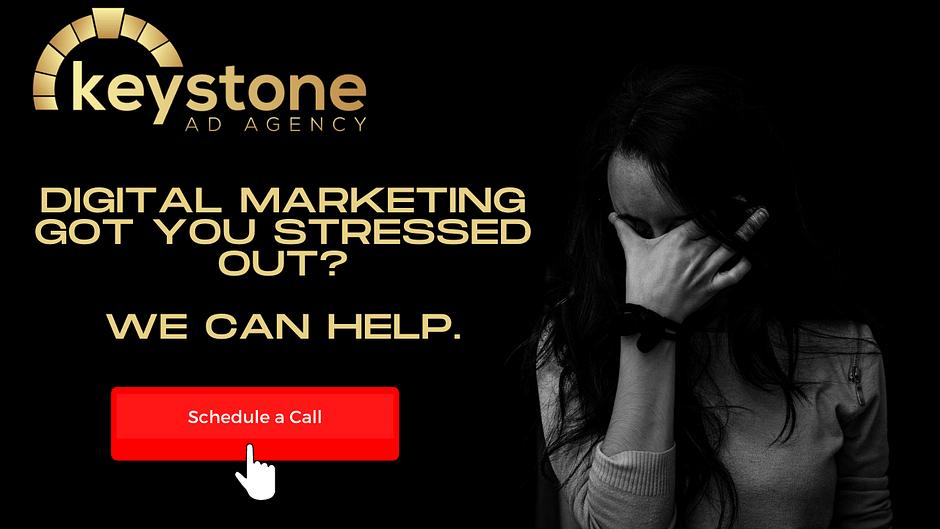Digital Marketing Got you Stressed? We Can Help. Schedule a Call